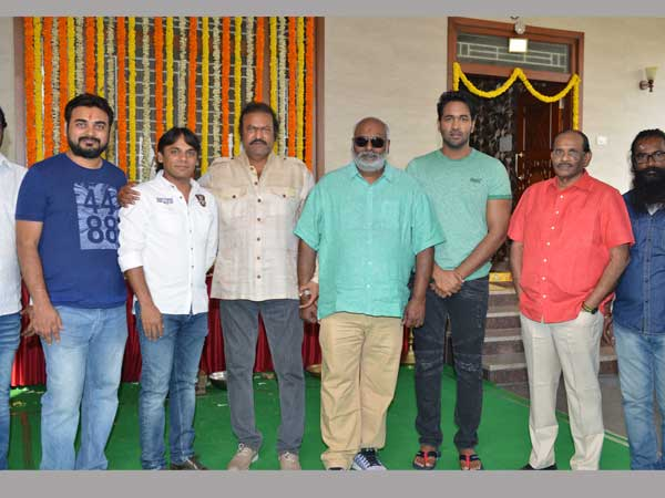 Vishnu Manchu Tamil, Telugu action bi-lingual film launched
