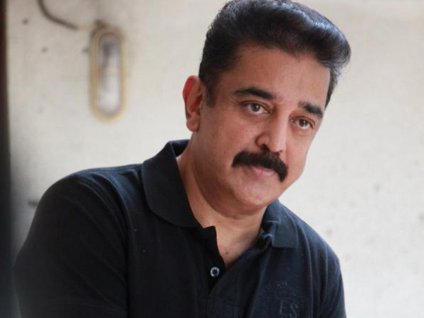 Kamal Haasan has the courage to comment on political affairs of the state, even indirectly.