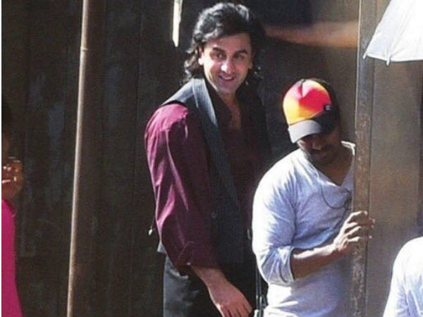 First Look Of Ranbir Kapoor As Sanjay Dutt