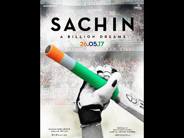 Sachin Tendulkar's 'Sachin: A Billion Dreams' movie Release date