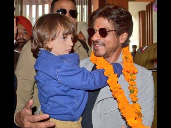 Shah Rukh Khan visited Swarna Temple with his son Abram