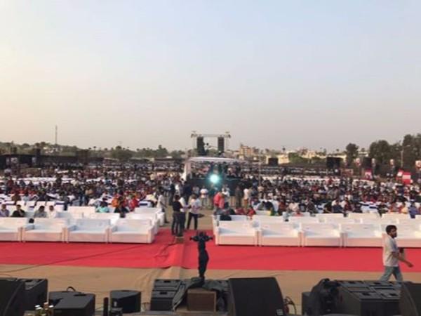 ప్రపంచంలోనే తొలిసారి: 'బాహుబలి' ప్రీ రిలీజ్ వేడుకలో ప్రత్యేకత ఇదే!