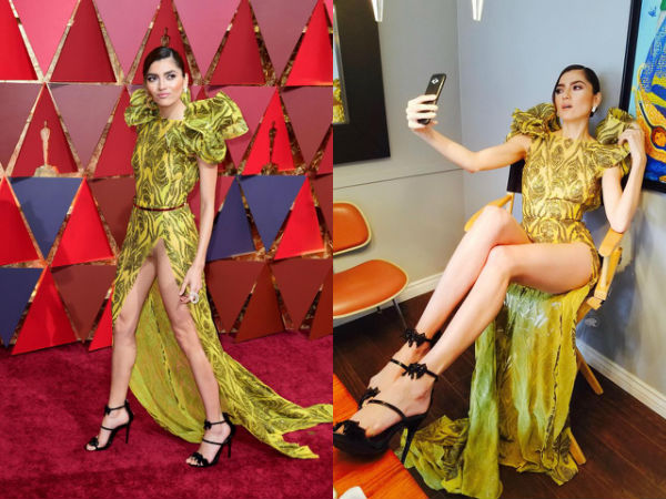 Blanca Blanco clarifies that she wore a nude bodysuit under her Oscars dress