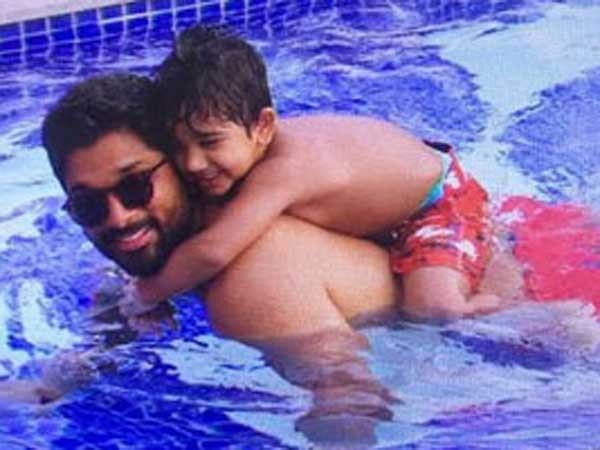 Bunny's Swimming Classes for Son Ayan