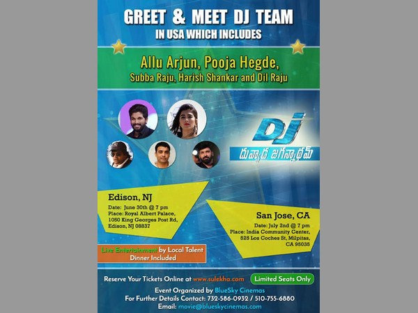 Greet and Meet DJ Team in USA
