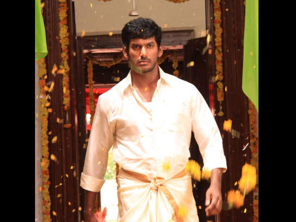Tamil hero Vishal hurt during shooting of an action episod