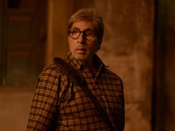 Amitabh Bachchan shot with a fractured rib