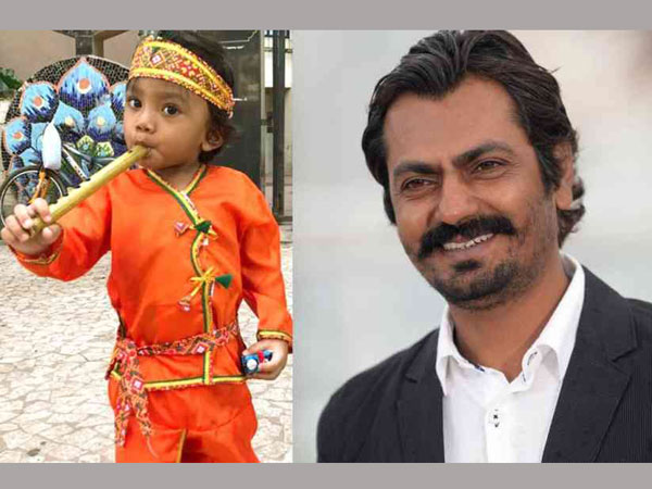 Nawazuddin Siddiqui's Son Plays Krishna In School Drama