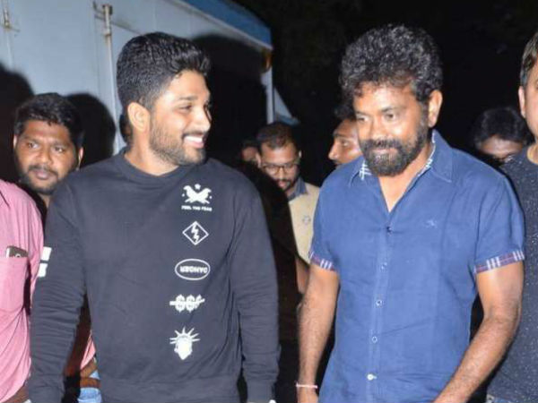 Director Sukumar: Allu Arjun teases me in that way