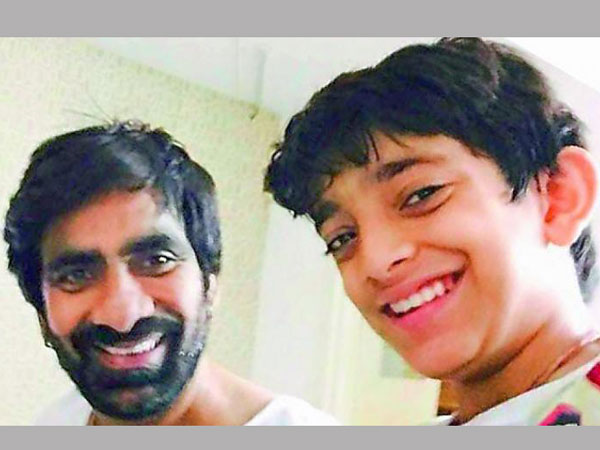 Ravi Teja sun Mahadhan to act in