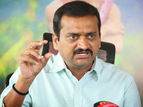 sc,st Atrocities case against Bandla Ganesh?