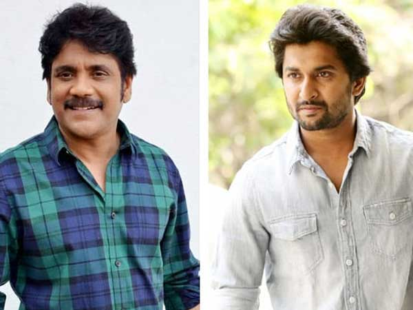 Nagarjuna - Nanis Multi-Starrer Is The First Film To Be Shot In a Hyderabad Metro Train