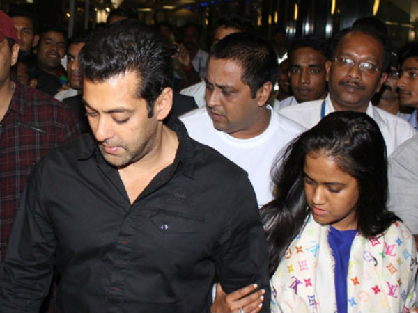 Arpita Khan post on her brother Salman Khan