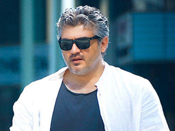 Ajith will shown as two different shades!