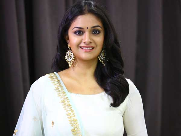 Keerthy Suresh gives clarity on Jayalalitha biopic