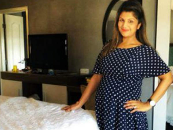 Actress Ramba become pregnant for third time