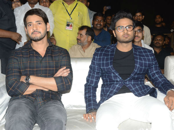 MAHESH AT THE RESCUE  OF SUDHEERBABU!