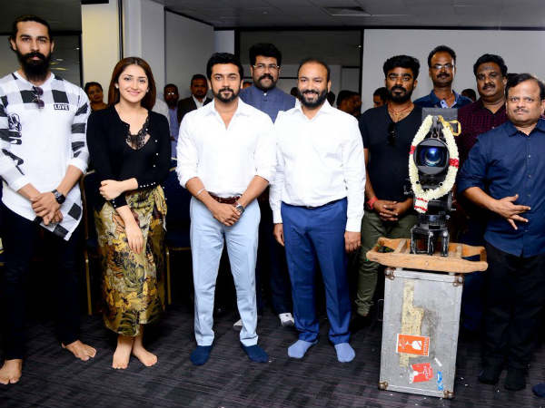 Suriya and Allu Sirish movie kickstarted in London