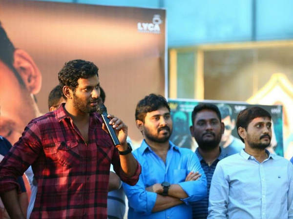Vishal: We Will Start Abhimanyudu - 2 Soon