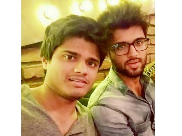 Breaking: Vijay Devarakonda brother Anand going to step in Tollywood.