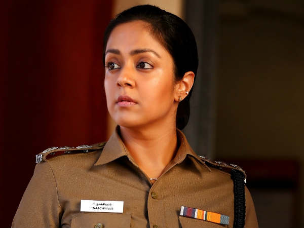 Actress Jyothika in re entry in to Tollywood with Jhansi movie