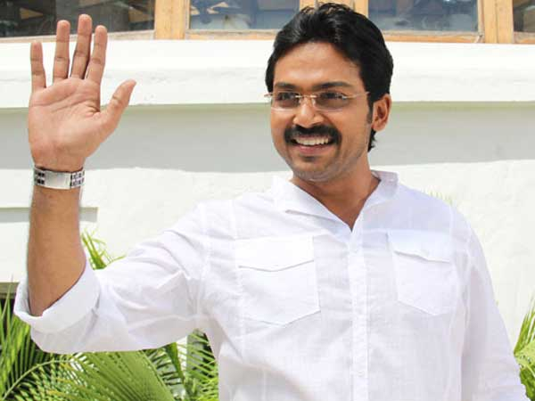 Hero Karthi to play as YS Jagan in Yatra