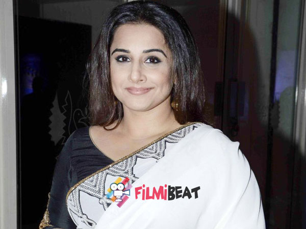 Vidya Balan in NTR Biopic.. Its official