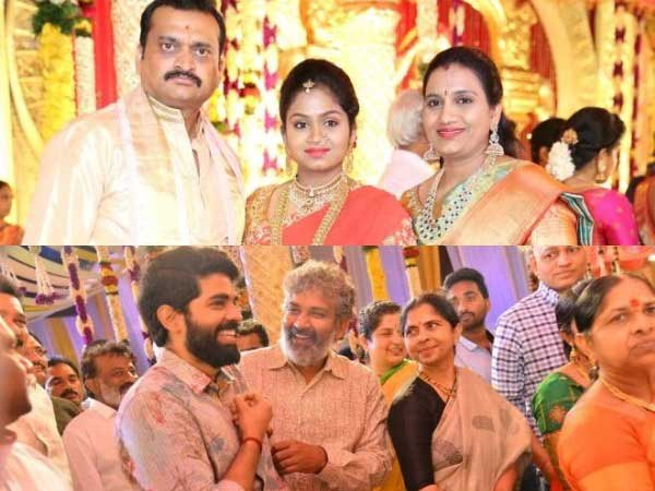 Producer Ganesh Brothers Daughter Ashritha Wedding