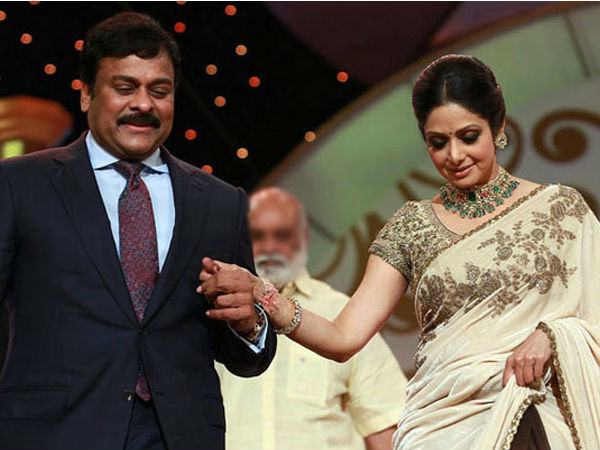 Chiranjeevi about late Sridevi in santhosham awards