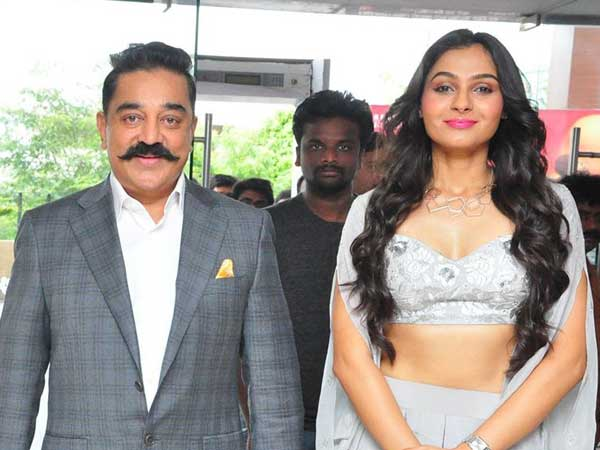 Andrea jeremiah: Kamal Haasan is a Acting Institute