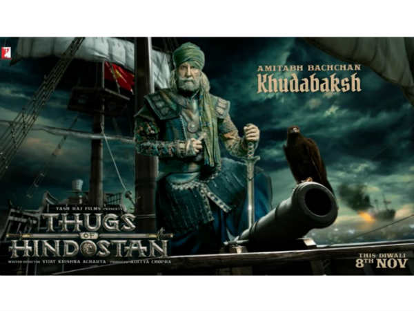 Thugs of Hindostan motion poster unveiled by actor Aamir Khan