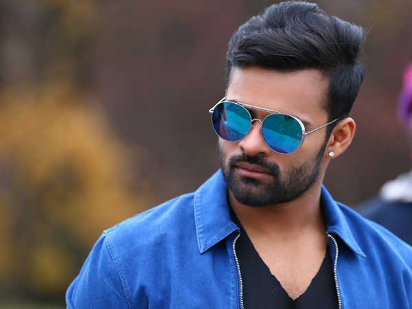 Mega Hero Saidharam Tej return to Hyderabad from US