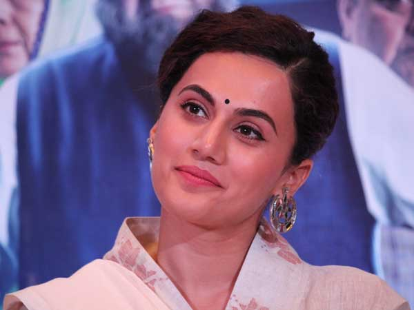 Protest I want full drug test outside the gurudwara: Taapsee