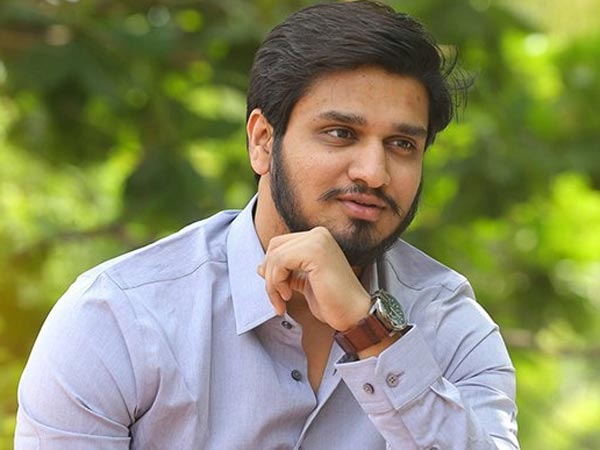 Hero Nikhil help to TitliCyclone victims