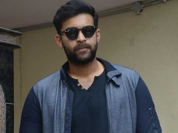 Varun Tej donating Rs 5 lakh for AP Relief Fund