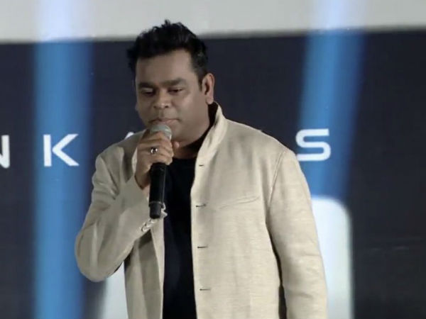AR Rahman: Jitters in spine when Shankar narrated story