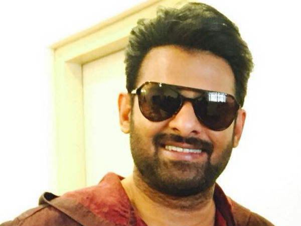 PRABHAS GETTING CHANGED FOR THAT GETUP!