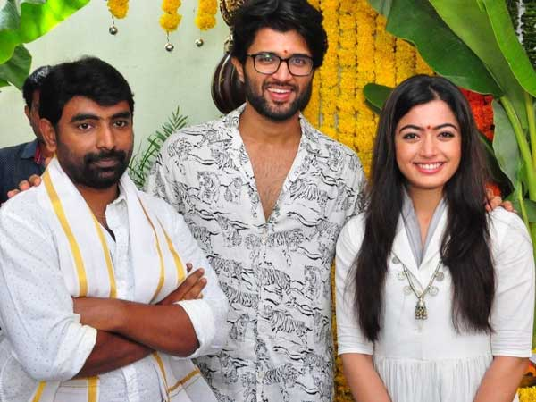 Interesting news about Rashmika Mandanna role in Dear Comrade