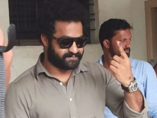 JUNIOR BEARED BECOMES HOT TOPIC IN TELANGANA ELECTIONS!