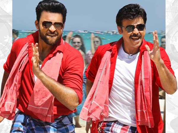 Venkatesh, Varun Tej F2 nearing end of shoot