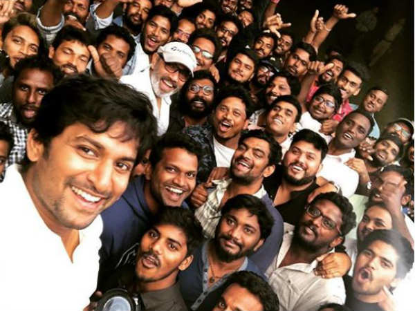 Nanis cricket based movie Jersey completes its shoot