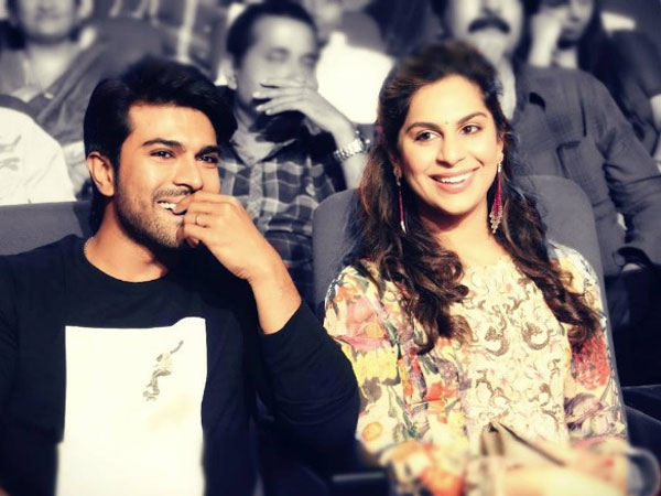 UPASANA COMMENTS ON CHARAN ON THE EVE OF WOMENS DAY!