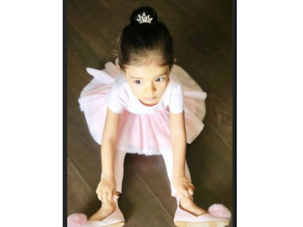 Asins Daughter Arin, 18-Months-Old, Is The Cutest Ballerina Ever