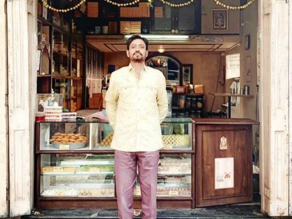 Irrfan Khans look in Angrezi Medium released