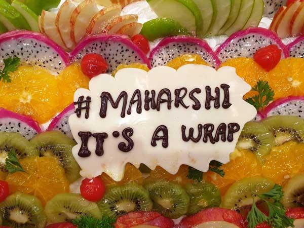 'మహర్షి' షూట్ ఫినిష్: సంబరాల్లో మహేష్, సితార, నమ్రత, చిత్ర బృందం!(ఫోటోలు)