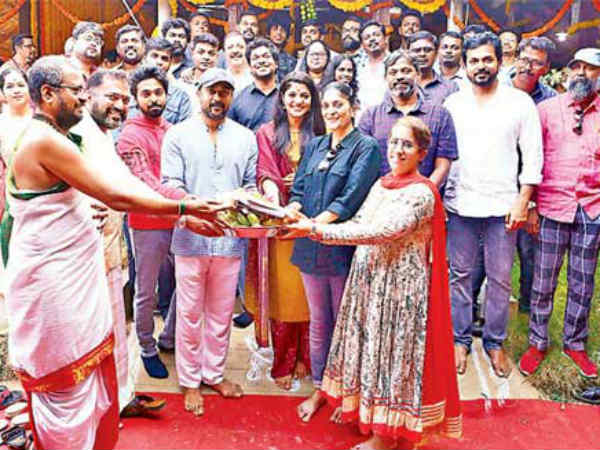 Hero Suriyas 38th movie movie launched in Chennai today