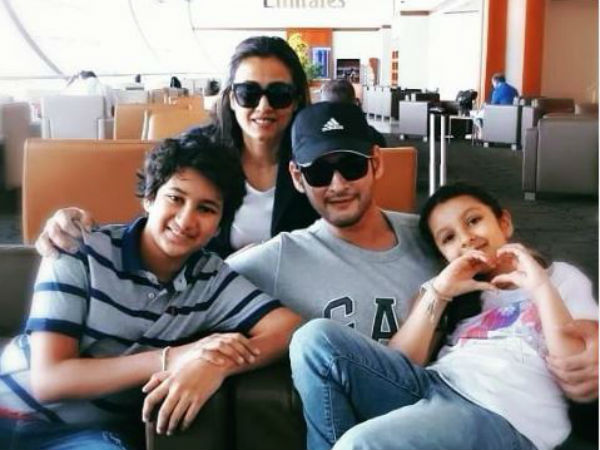 Mahesh Babu headed to another memorable  vacation