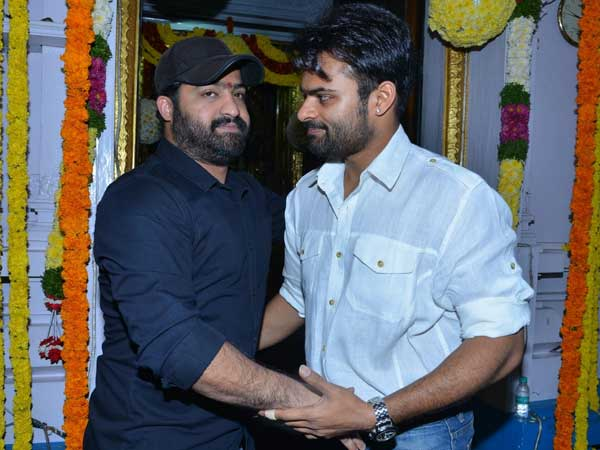 Birth Day Wishes to Ntr by Sai Dharam Tej