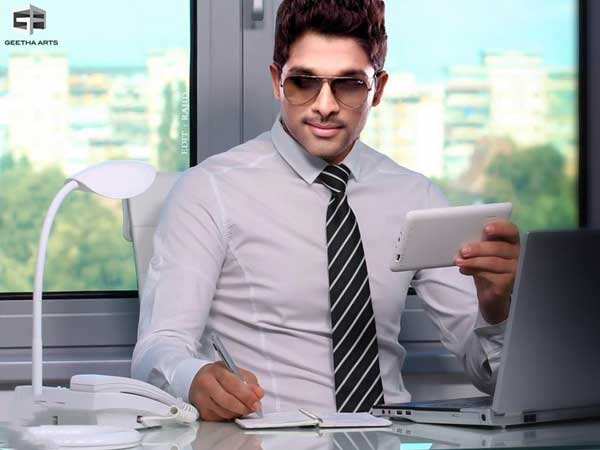 Allu Arjun look leaked from Trivikram Srinivas sets