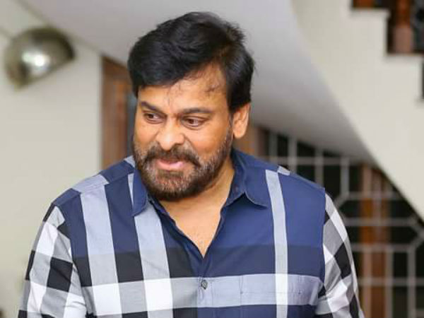 Chiranjeevi Finished His Dubbing Work in Sy Raa Narasimhaa Reddy